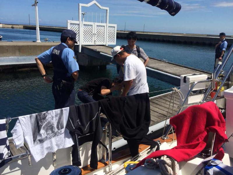 第二梦想号在北海道小樽港感受到不一样的执法文化 64128