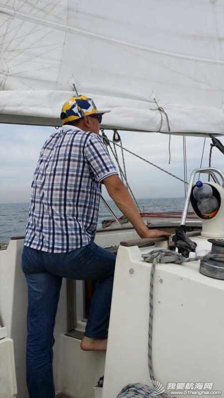 2014秦皇岛号帆船首航试帆,今天风和日丽,蓝天白云滴还不晒。 162927u33ps4ie44jp7zvs.jpg