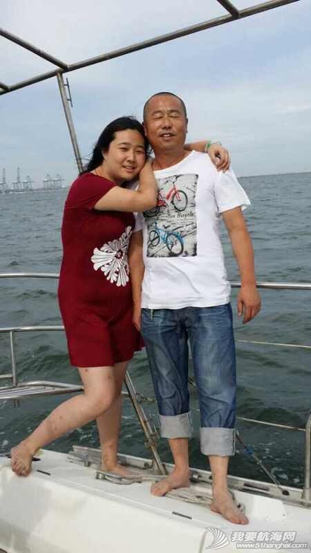 2014秦皇岛号帆船首航试帆,今天风和日丽,蓝天白云滴还不晒。 162928jyghcdvm0ey66mab.jpg