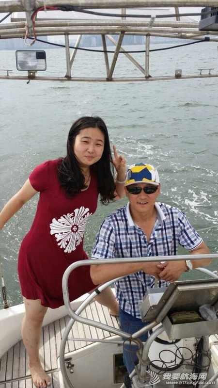 2014秦皇岛号帆船首航试帆,今天风和日丽,蓝天白云滴还不晒。 162928ku226bamh1qbmenq.jpg