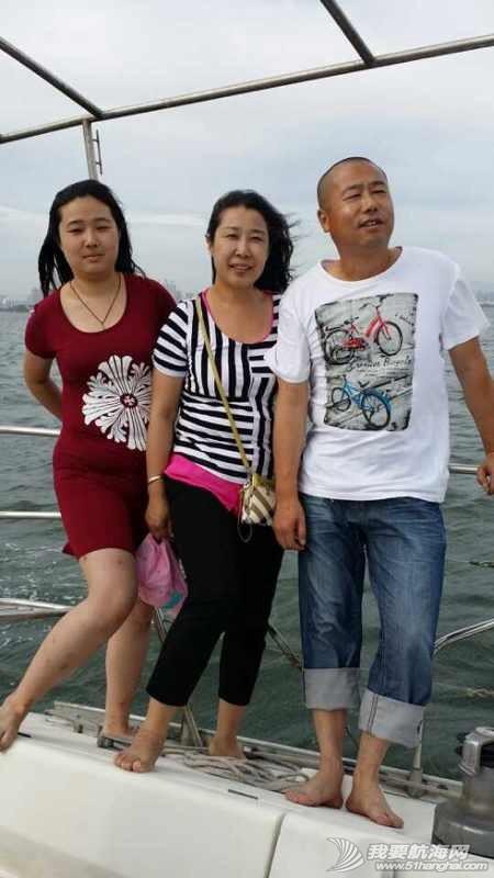 2014秦皇岛号帆船首航试帆,今天风和日丽,蓝天白云滴还不晒。 162929ht30403fz83w6mec.jpg