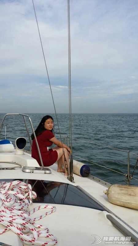 2014秦皇岛号帆船首航试帆,今天风和日丽,蓝天白云滴还不晒。 162930egqzlnbu6s7zb4s3.jpg
