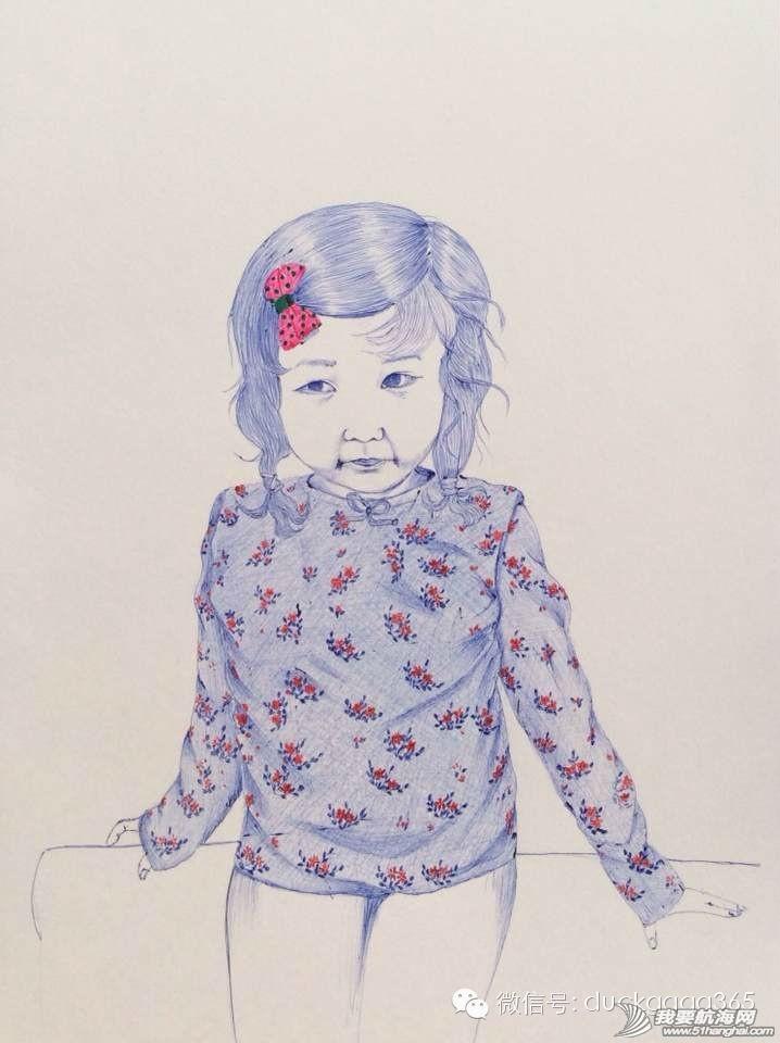 交响乐团,Jenny,圆珠笔,当当,日本 Jenny和女儿,以及她的圆珠笔画 0.jpg