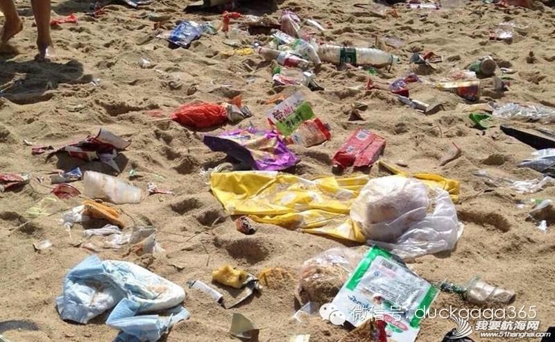 大梅沙,垃圾场,垃圾车,清洁工,管理者 大梅沙海滩:节假日再现垃圾场 0.jpg