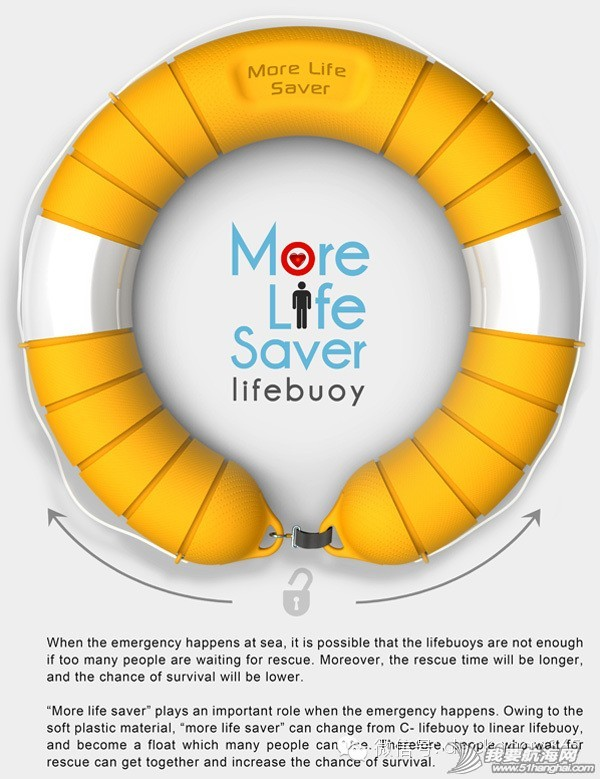 创意设计,救生圈,最大的,产品,小鸭 【关注水安全】可供多人使用的救生圈创意设计