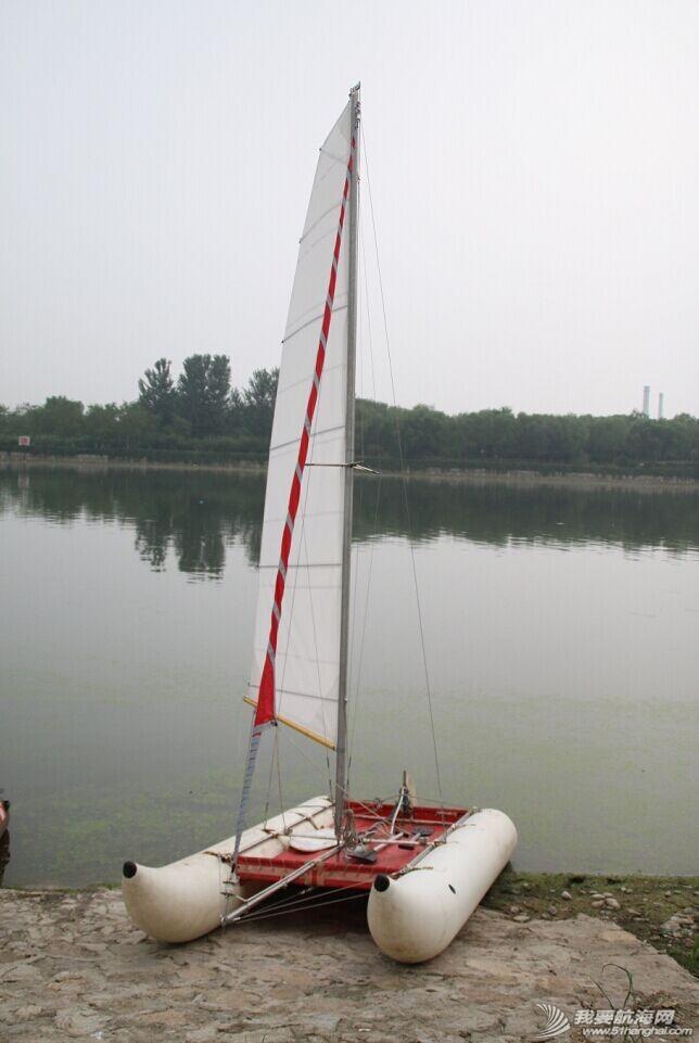双体帆船,运河,金海,烟斗,后背墙 DIY帆船成为通州运河第一帆 QQ图片20140804175119.jpg