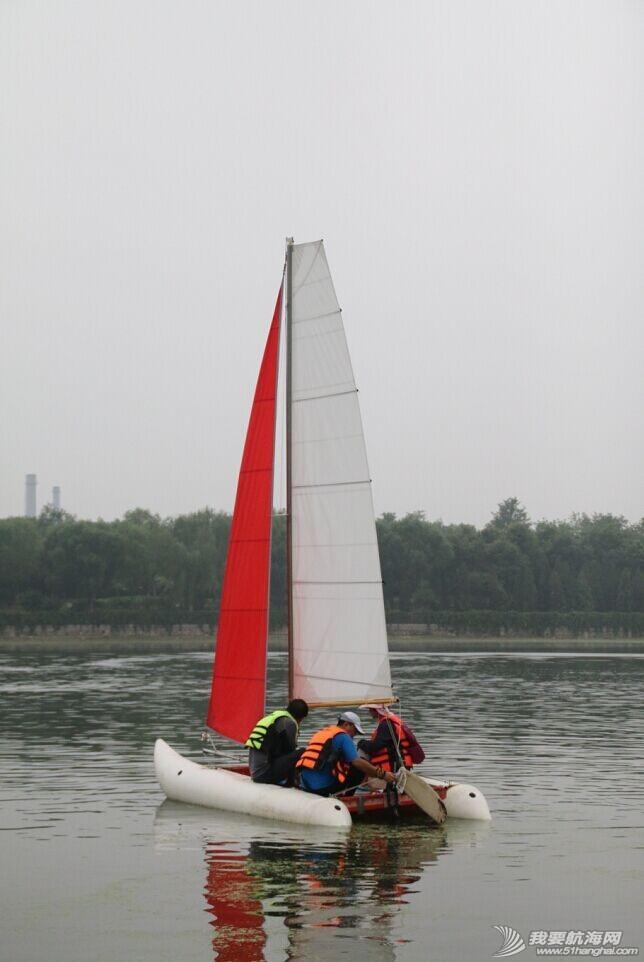 双体帆船,运河,金海,烟斗,后背墙 DIY帆船成为通州运河第一帆 QQ图片20140804175233.jpg