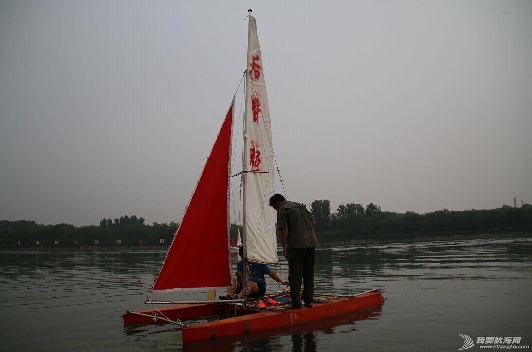双体帆船,运河,金海,烟斗,后背墙 DIY帆船成为通州运河第一帆 QQ图片20140804175259.jpg