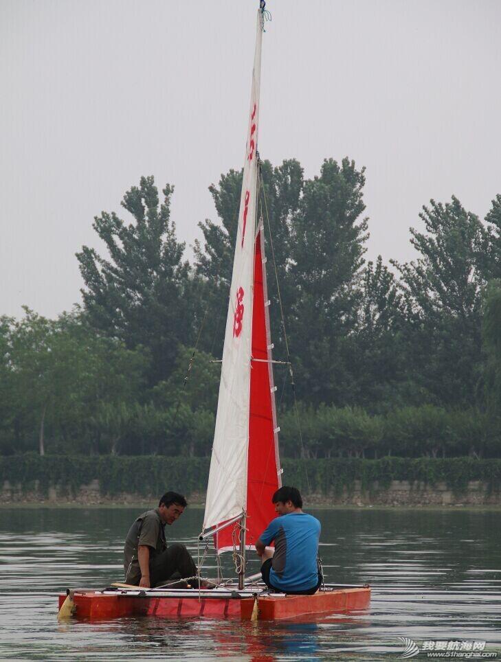 双体帆船,运河,金海,烟斗,后背墙 DIY帆船成为通州运河第一帆 QQ图片20140804175304.jpg