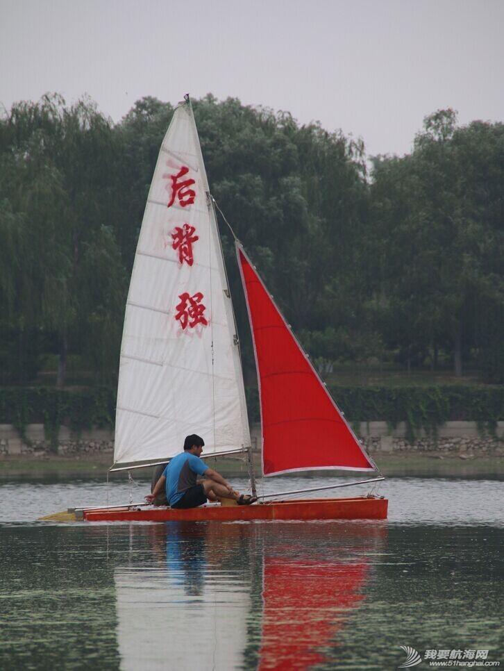 双体帆船,运河,金海,烟斗,后背墙 DIY帆船成为通州运河第一帆 QQ图片20140804175330.jpg