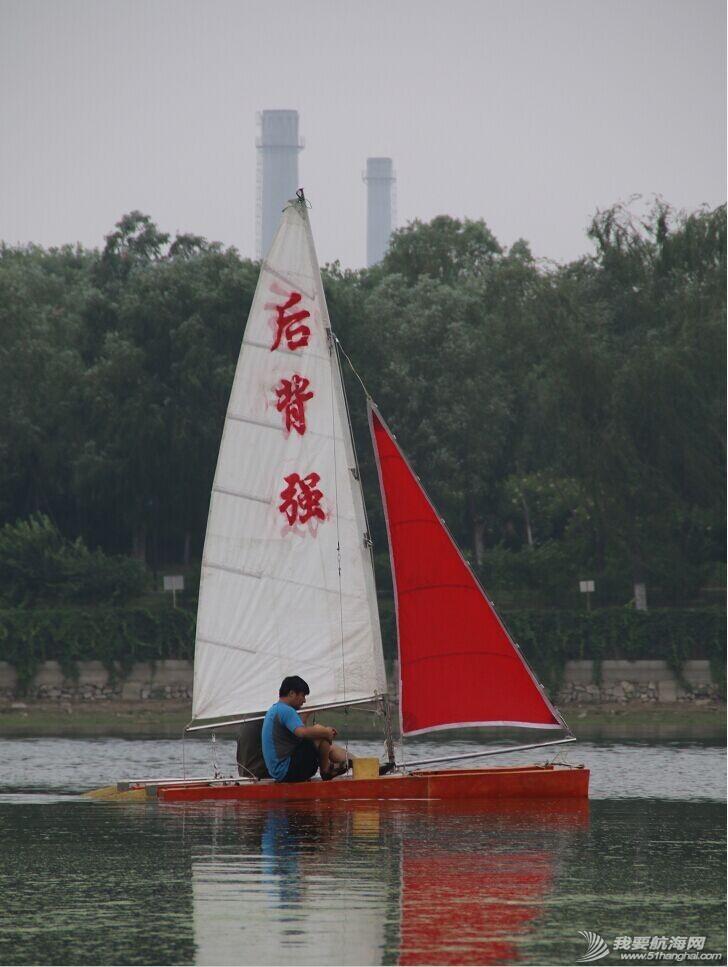 双体帆船,运河,金海,烟斗,后背墙 DIY帆船成为通州运河第一帆 QQ图片20140804175326.jpg