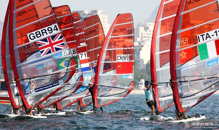 里约热内卢,奥运会,2014里约国际帆船赛 8月3日,2014里约国际帆船赛在里约热内卢瓜纳巴拉湾举行首个竞赛日的比赛. 13.png