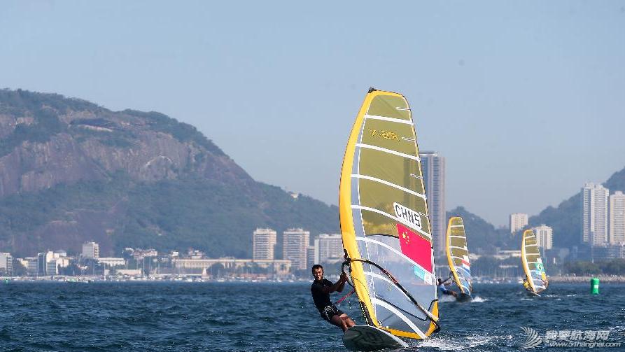里约热内卢,奥运会,2014里约国际帆船赛 8月3日,2014里约国际帆船赛在里约热内卢瓜纳巴拉湾举行首个竞赛日的比赛. 14.png