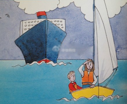 跑船时要眼观四方、耳听八方,时刻警惕周围船只的动向。 33.png