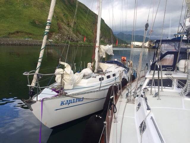 高民团队遇到了两位73岁和64岁帆船环球的俄罗斯老人 72211