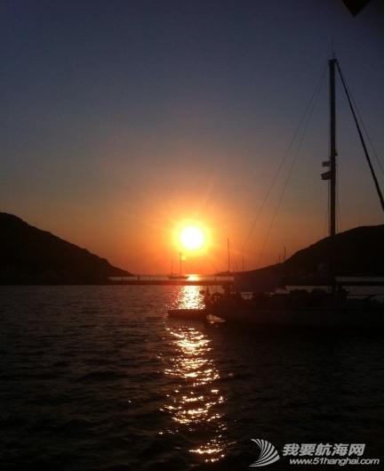 爱琴海,船头作诗 父亲在船头作诗---《夜泊爱琴海船头赏月》 38.png