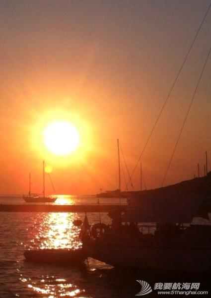爱琴海,船头作诗 父亲在船头作诗---《夜泊爱琴海船头赏月》 39.png