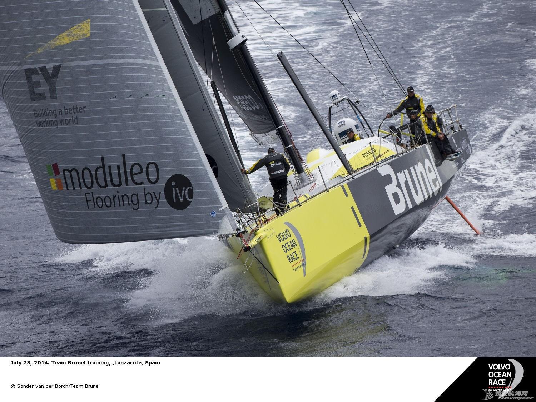 新赛季,西班牙,沃尔沃,阿布扎比,阿联酋 随着这最后一支船队的确认,新赛季的沃尔沃环球帆船赛进入倒计时。 VolvoOceanRace_14-043586-teambrunel.jpg