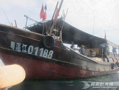 琼州海峡,独木舟,报名,清茶 2011年5月,闪米特和队员阿凡的两条独木舟的探险之旅。 13.png
