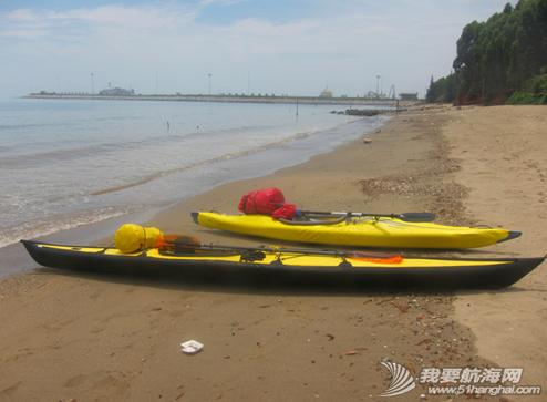 琼州海峡,独木舟,报名,清茶 2011年5月,闪米特和队员阿凡的两条独木舟的探险之旅。 16.png