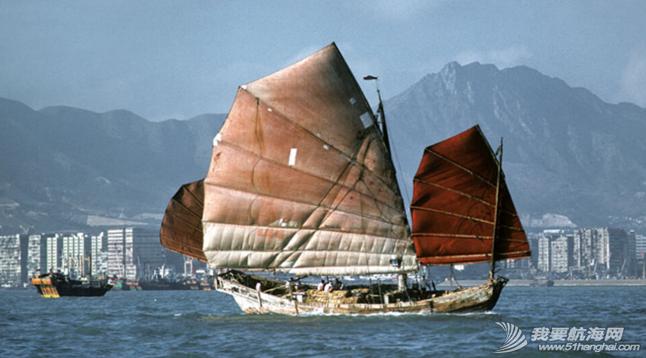 西式帆船,中式帆装 邝向荣忆两次开着西式帆船与中式帆装PK的亲身经历 36.png
