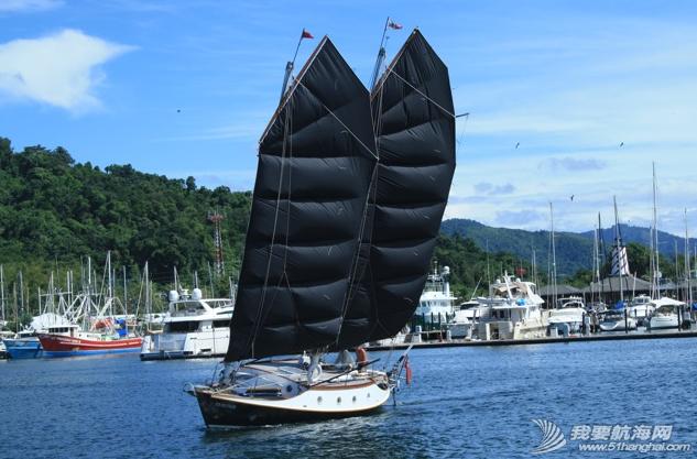 西式帆船,中式帆装 邝向荣忆两次开着西式帆船与中式帆装PK的亲身经历 38.png