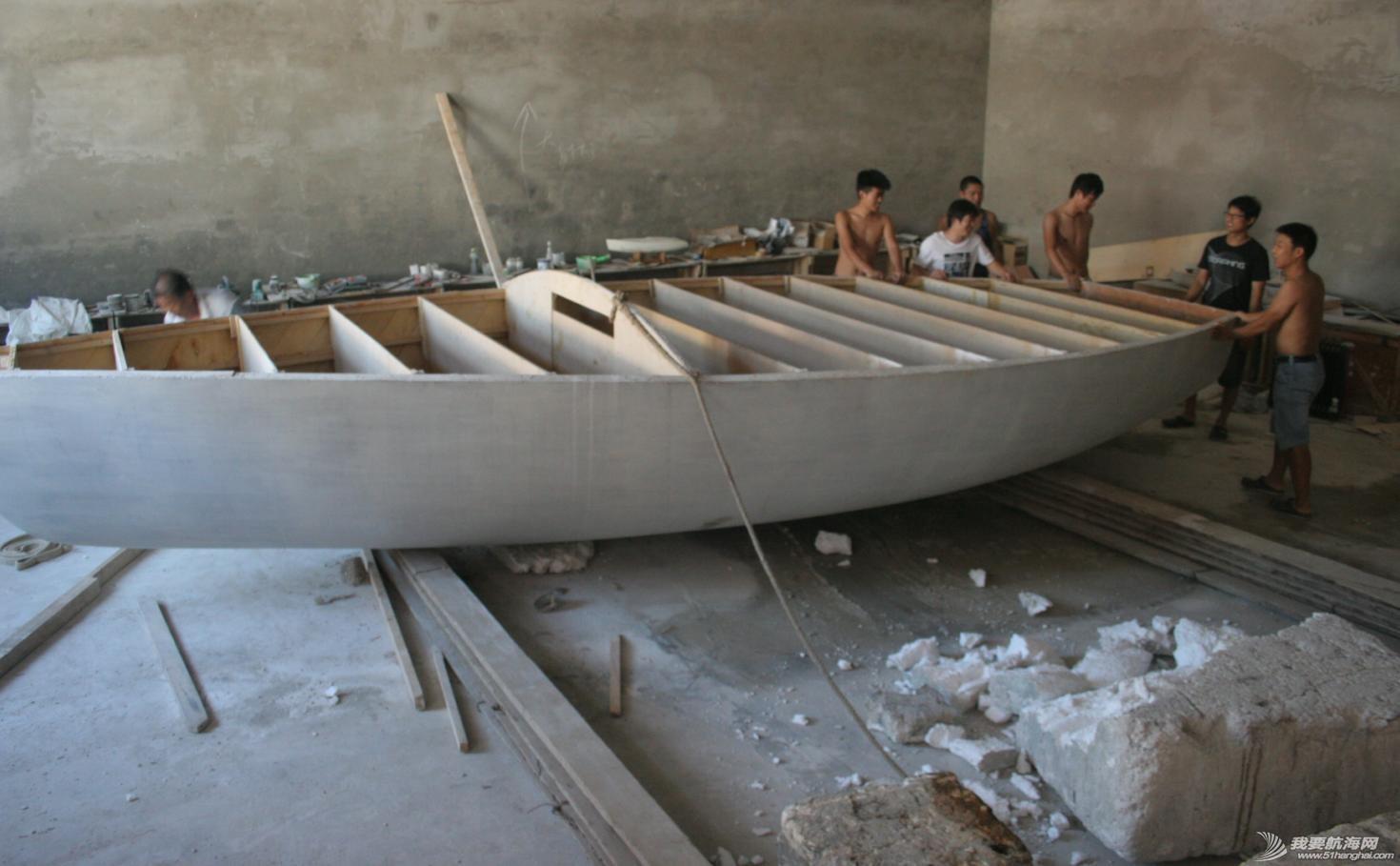 帆船 GR-750帆船船壳8月25日完成翻身 17.jpg