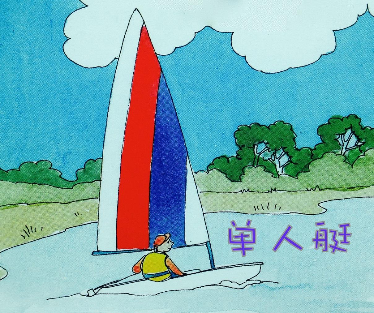 技术学,帆船,竞技,双人艇 建议大家先从双人艇开始,这样就可以分工从简单的技术学起来。 2a帆船种类11.jpg