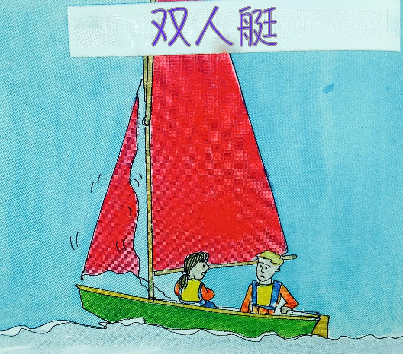 技术学,帆船,竞技,双人艇 建议大家先从双人艇开始,这样就可以分工从简单的技术学起来。 2b22.jpg