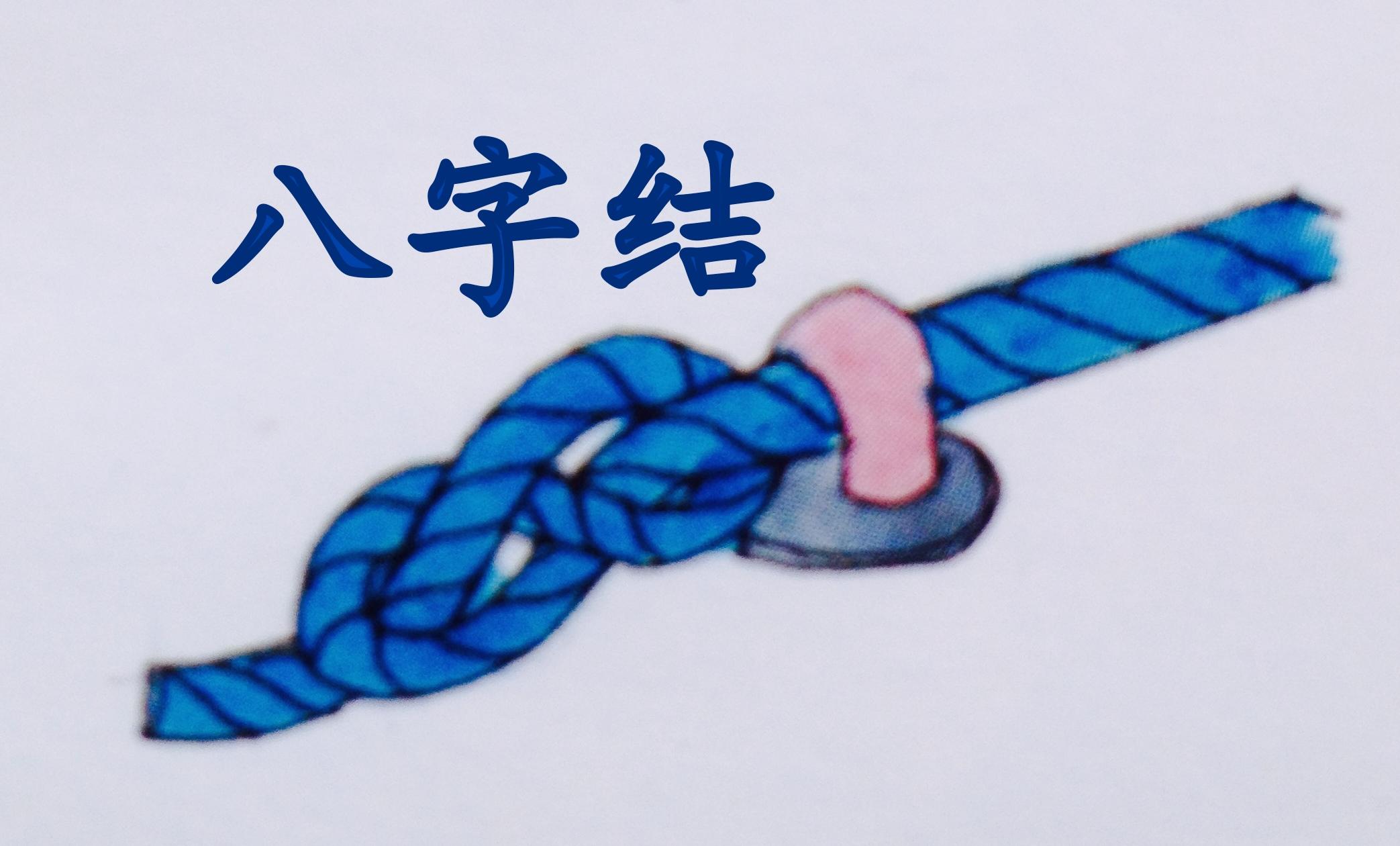 徐莉佳,帆船,绳结打法 三个驾驶帆船就最常用的绳结打法与用途----徐莉佳漫画 5g.jpg