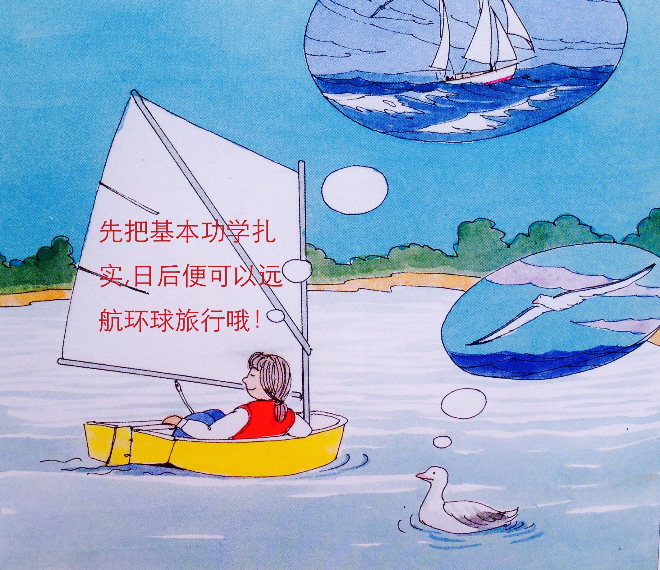 """汽车 船上有两人以上时,掌舵的人叫""""舵手,控制缭绳的人叫""""缭手"""",其他人统称船员。 7a舵的作用.jpg"""