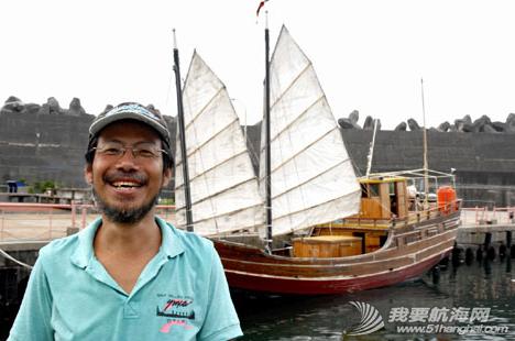 中国,台湾,而且,帆船,故事 中国台湾探險家造仿古船將循鄭和八下西洋 3.png