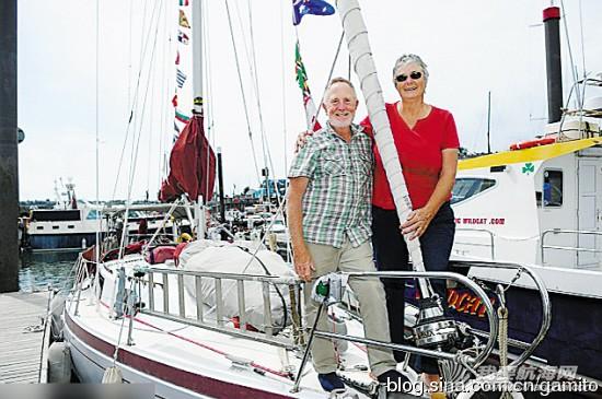 巴拿马运河,东南亚地区,苏伊士运河,巴巴多斯,澳大利亚 英一对退休夫妇驾帆船一游就是16年 补给靠以物易物 9.jpg