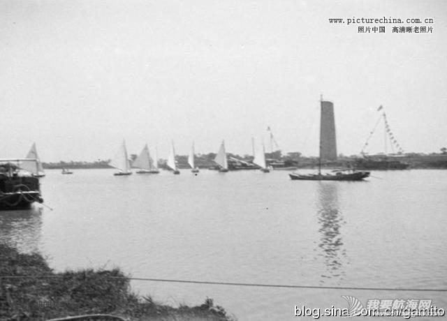 江南造船厂,上海地区,中国制造,奥运会,英国 1920年上海恒利赛船会,估计是中国最早的帆船赛。 6.jpg