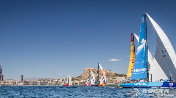 """沃尔沃,维斯,左右 2014-15赛季#沃尔沃环球帆船赛#""""第0赛段""""的比赛跌宕起伏 3.png"""