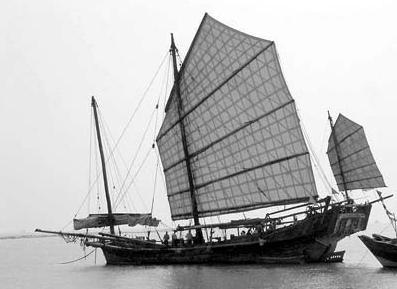"""珠海市,珠江口,福建,大海,帆船 三年前""""金華興""""號僅靠風力從福建駛抵珠海-1 14.png"""