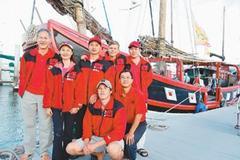 太平公主号帆船抵圣地亚哥 报平安 11.jpg