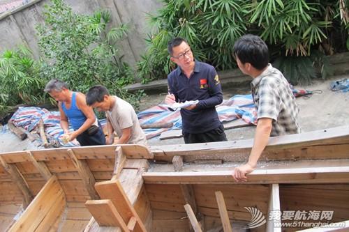 南台号,南台II号 8月22日:江村传统制帆田野调查,南台II号的底板、塞杆、走马也已完成。--南台二号 7.jpg