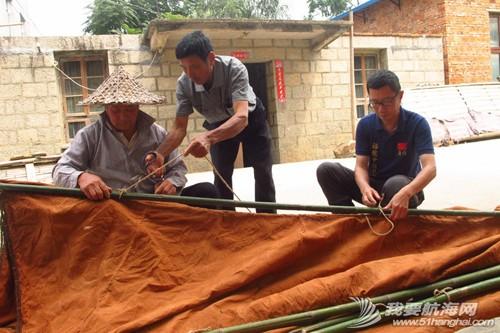 南台号,南台II号 8月22日:江村传统制帆田野调查,南台II号的底板、塞杆、走马也已完成。--南台二号 10.jpg