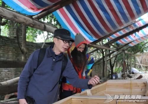 南台号,南台II号 8月22日:江村传统制帆田野调查,南台II号的底板、塞杆、走马也已完成。--南台二号 11.jpg