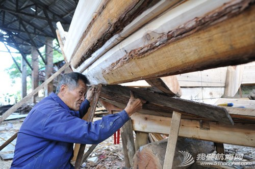 南台号,南台II号 8月22日:江村传统制帆田野调查,南台II号的底板、塞杆、走马也已完成。--南台二号 15.jpg
