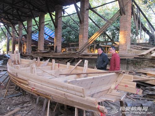 南台号,南台II号 8月22日:江村传统制帆田野调查,南台II号的底板、塞杆、走马也已完成。--南台二号 16.jpg