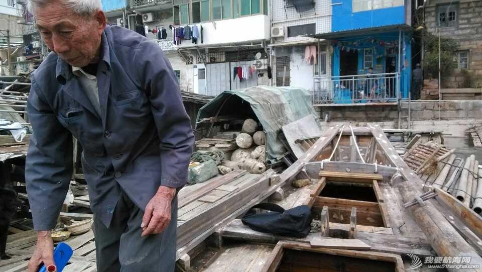 香山,清理,南台II号 南台II号在厦港渔民阮亚婴父子的友情协助下,从香山游艇码头移泊沙坡尾。 2.jpg