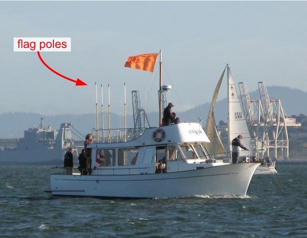 规则10左让右:左右相对舷风是最常碰到的两船相遇情节。 24f.jpg