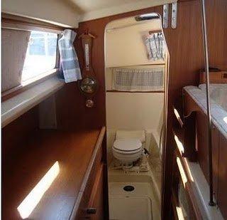 GR-750帆船:如厕方案,我要航海网