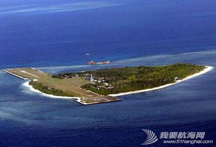 中国南海岛礁,施工新图 中国南海岛礁施工新图,很酷似目前在赤瓜礁进行的填海工程。 7.png