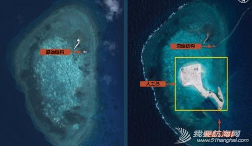 中国南海岛礁,施工新图 中国南海岛礁施工新图,很酷似目前在赤瓜礁进行的填海工程。 5.png