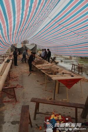 自然村,行政村,当地人,低洼地,角美镇 操舟记14 --- 这两天郑师傅就在下边社新钉制一只 18米长的龙船 6.jpg