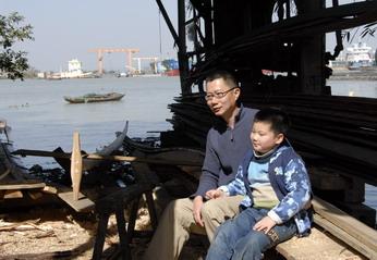 游乐场,独木桥,漳州,金华,帆船 操舟记11 ---带上老二前往海澄,看看老大造船的地方。 9.jpg