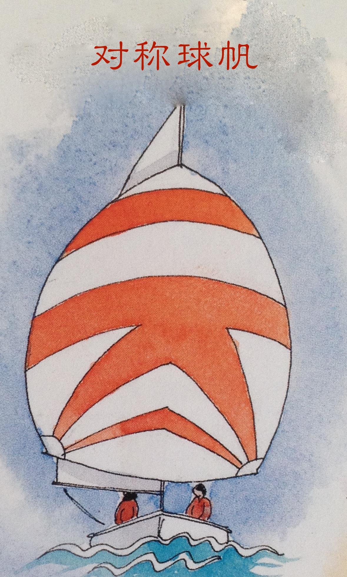 球帆分为两种:1、不对称球帆 2、对称球帆。 50bb.jpg